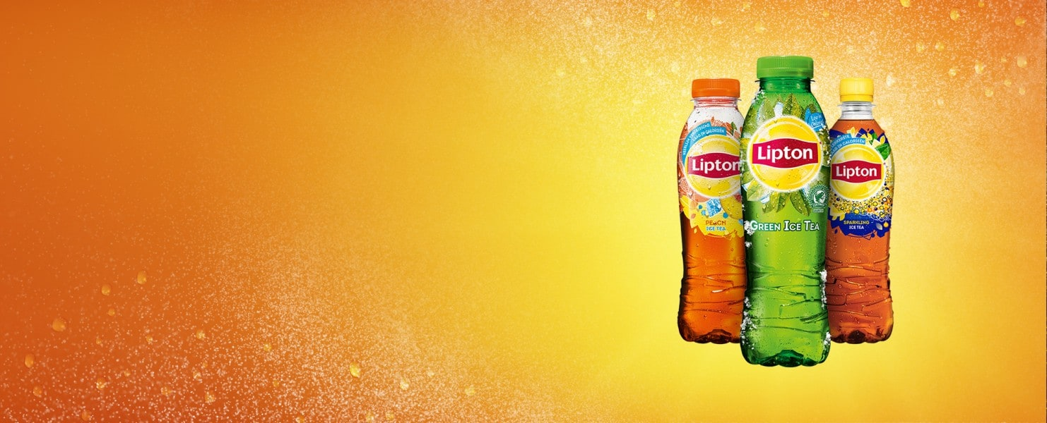 Lipton Ice Tea Sparkling, Lipton Ice Tea Green, Lipton Ice Tea Peach